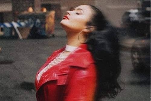 "Album cover for Demi Lovato\'s \""I Love Me\"" released by Island Records"