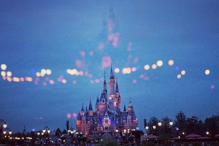 Cinderella castle in Shanghai Disneyland Park