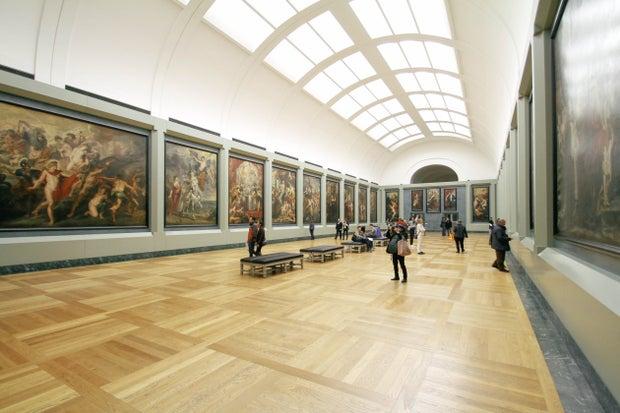 Exhibit Painting Display
