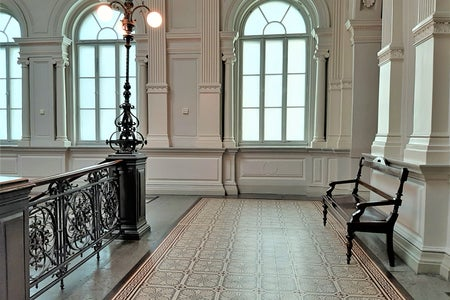 Lobby at Ateneum Art Museum, Helsinki