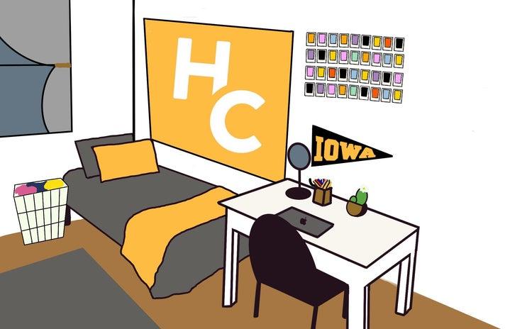 Dorm Room graphic