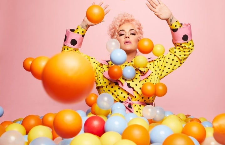 Promotional Katy Perry for SMILE
