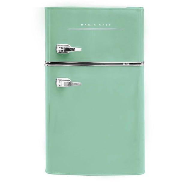 mint-green-mini-fridge