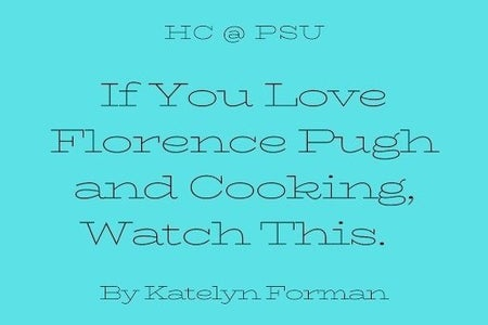 Cooking with Florence Pugh