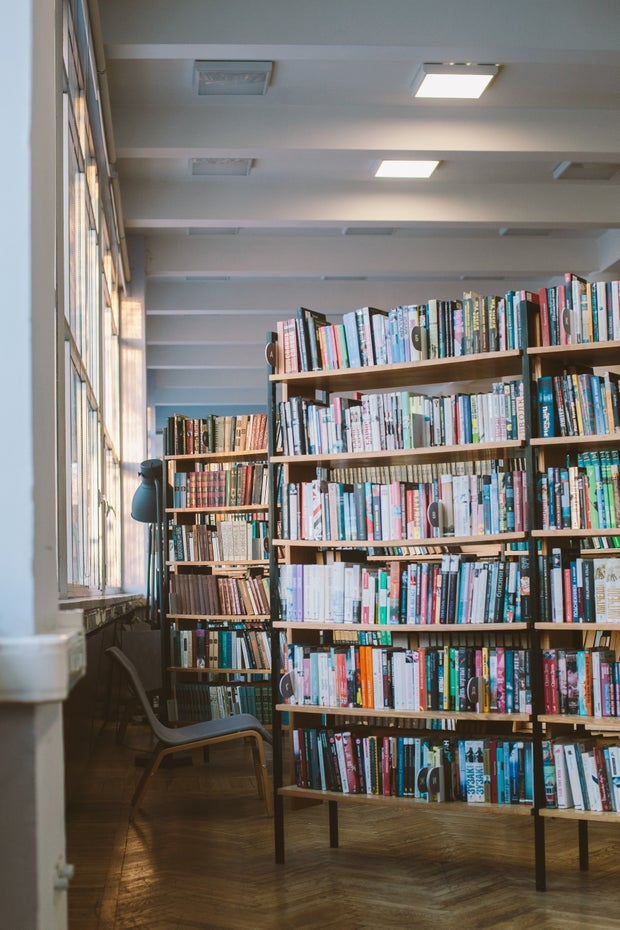 aesthetic library