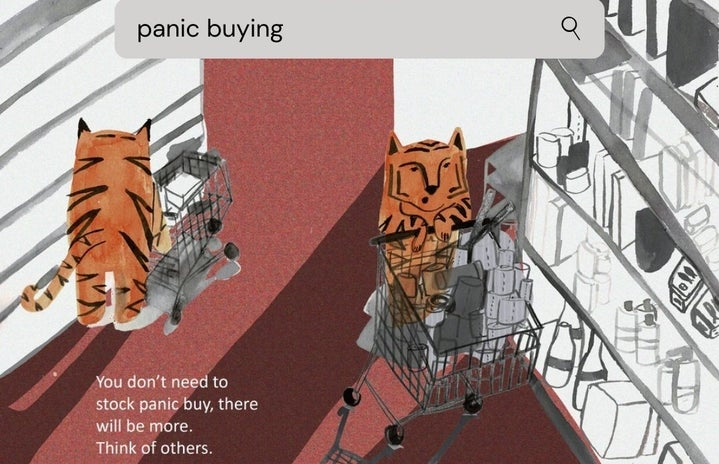 Excessive buying because of Panic