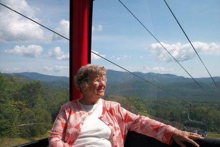 gigi in the mountains