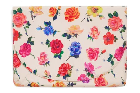 Rose print laptop sleevev