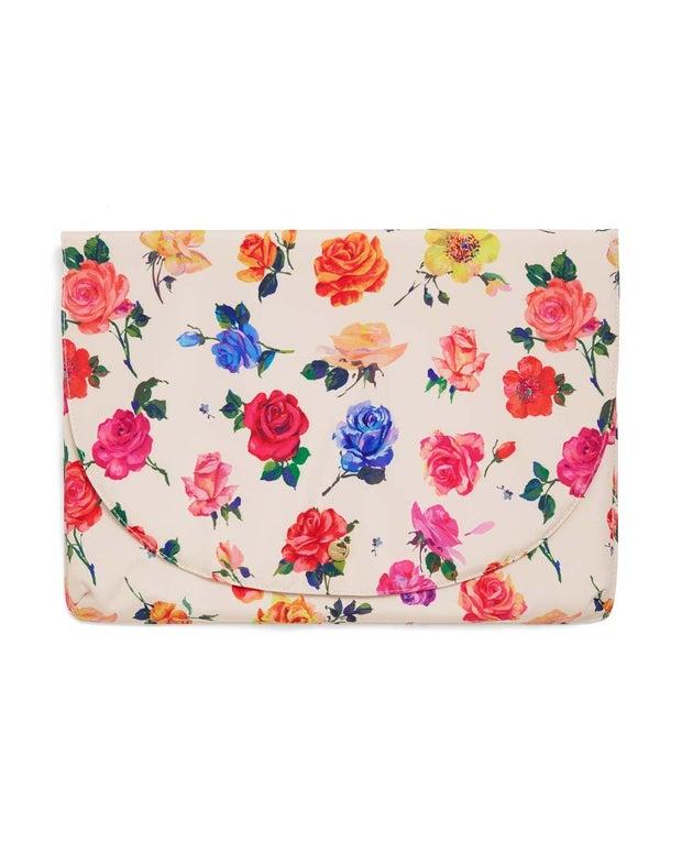 Rose print laptop sleevev