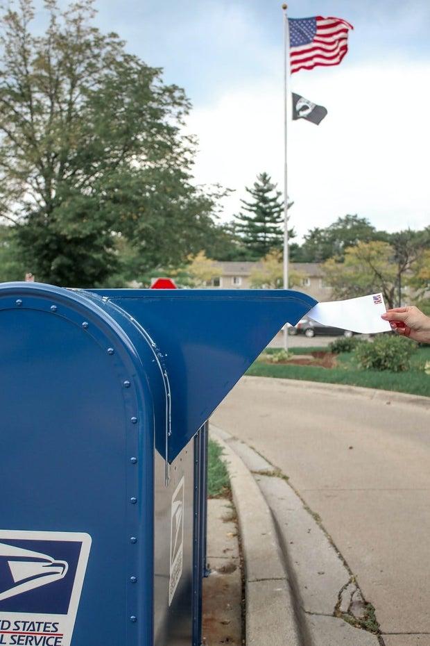 Mail-in Vote Box