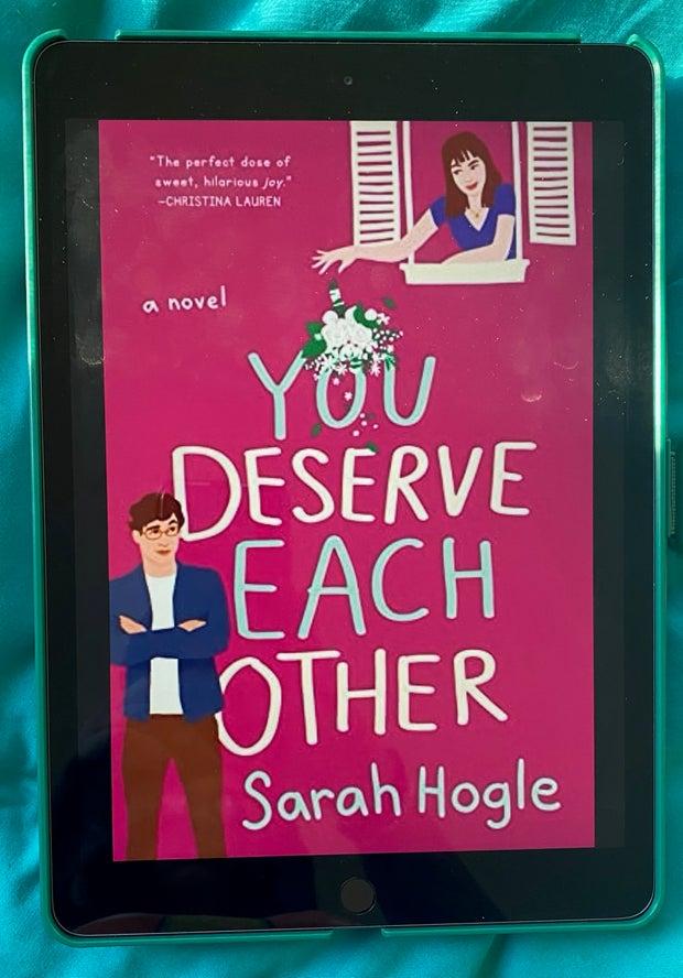 You Deserve Each Other Sarah Hogle Cover