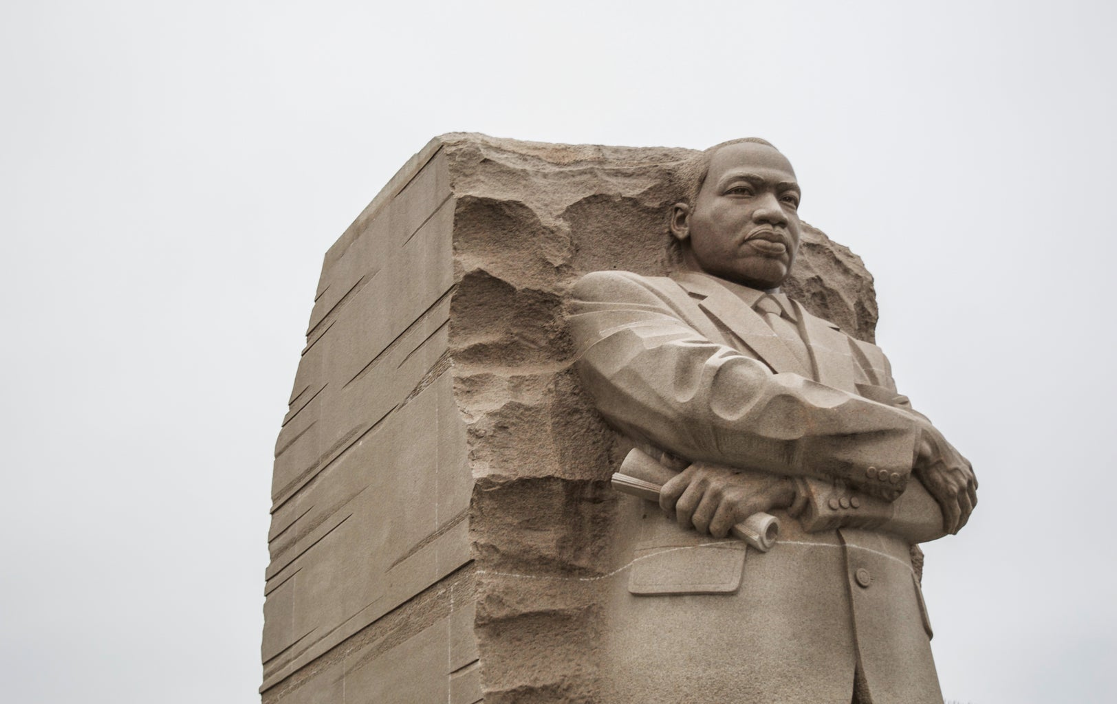 MLK statue in D.C.