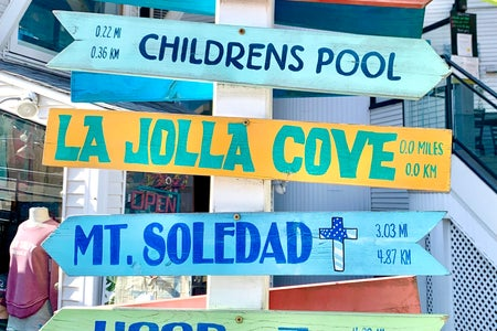 Cover Image: La Jolla Cove signs