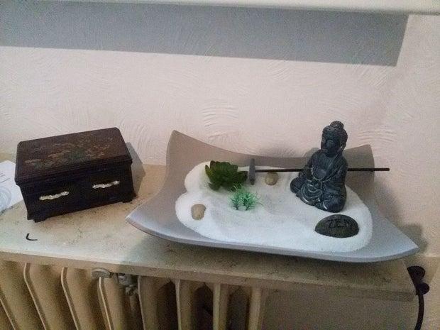 homemade zen garden