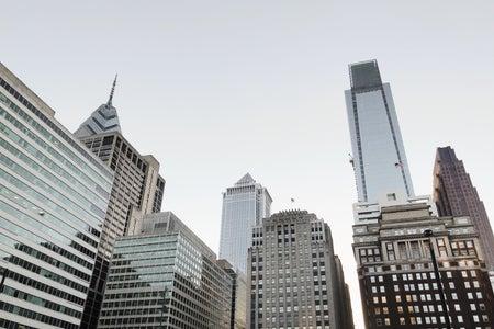 Philadelphia Center City Skyscrapers