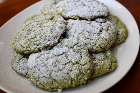 Photo of matcha cookies