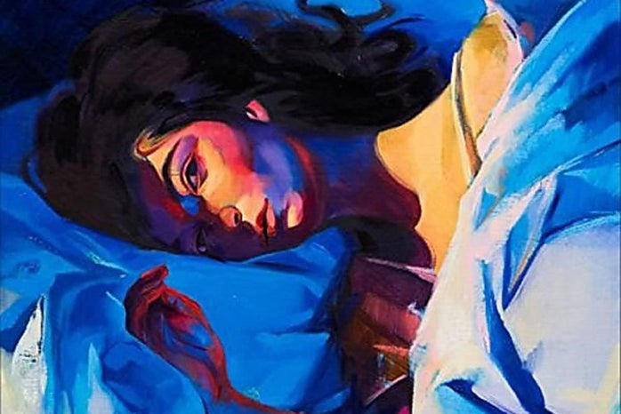 """Cover image of \""""Melodrama\"""", Lorde\'s second album"""