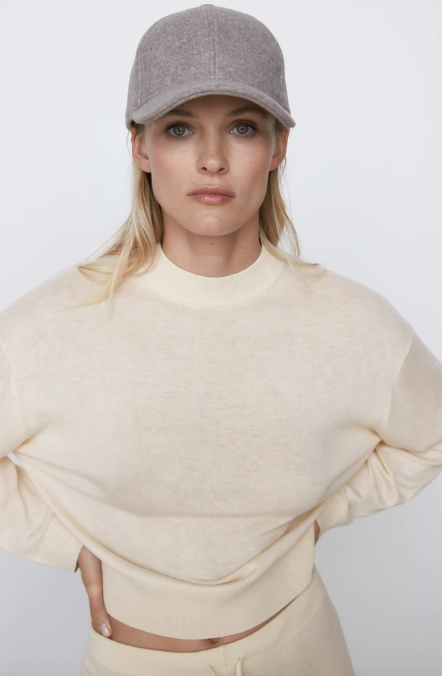 Soft Feel cap zara taupe