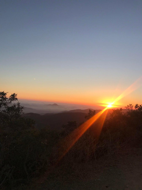 Cuesta Ridge in SLO.