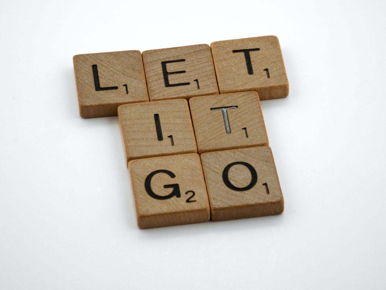 let it go letter blocks