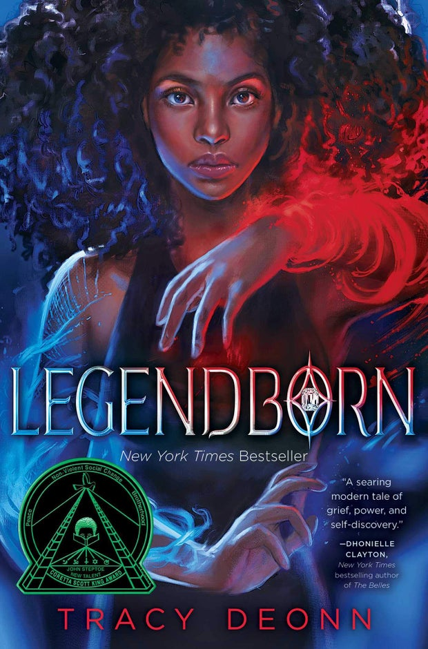 cover of legendborn by tracy  deonn
