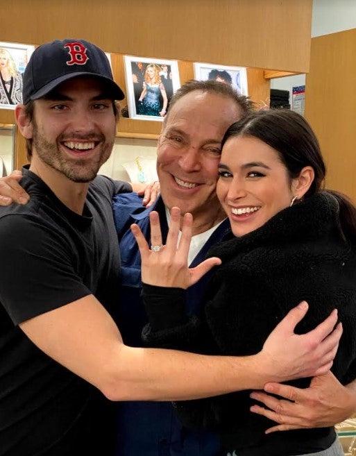 Ashley i, jared and neil lane engagement ring