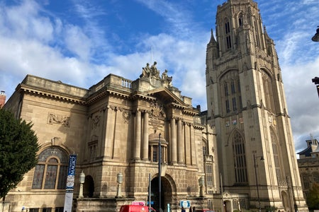 Bristol university building