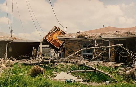 hurricane katrina house destruction