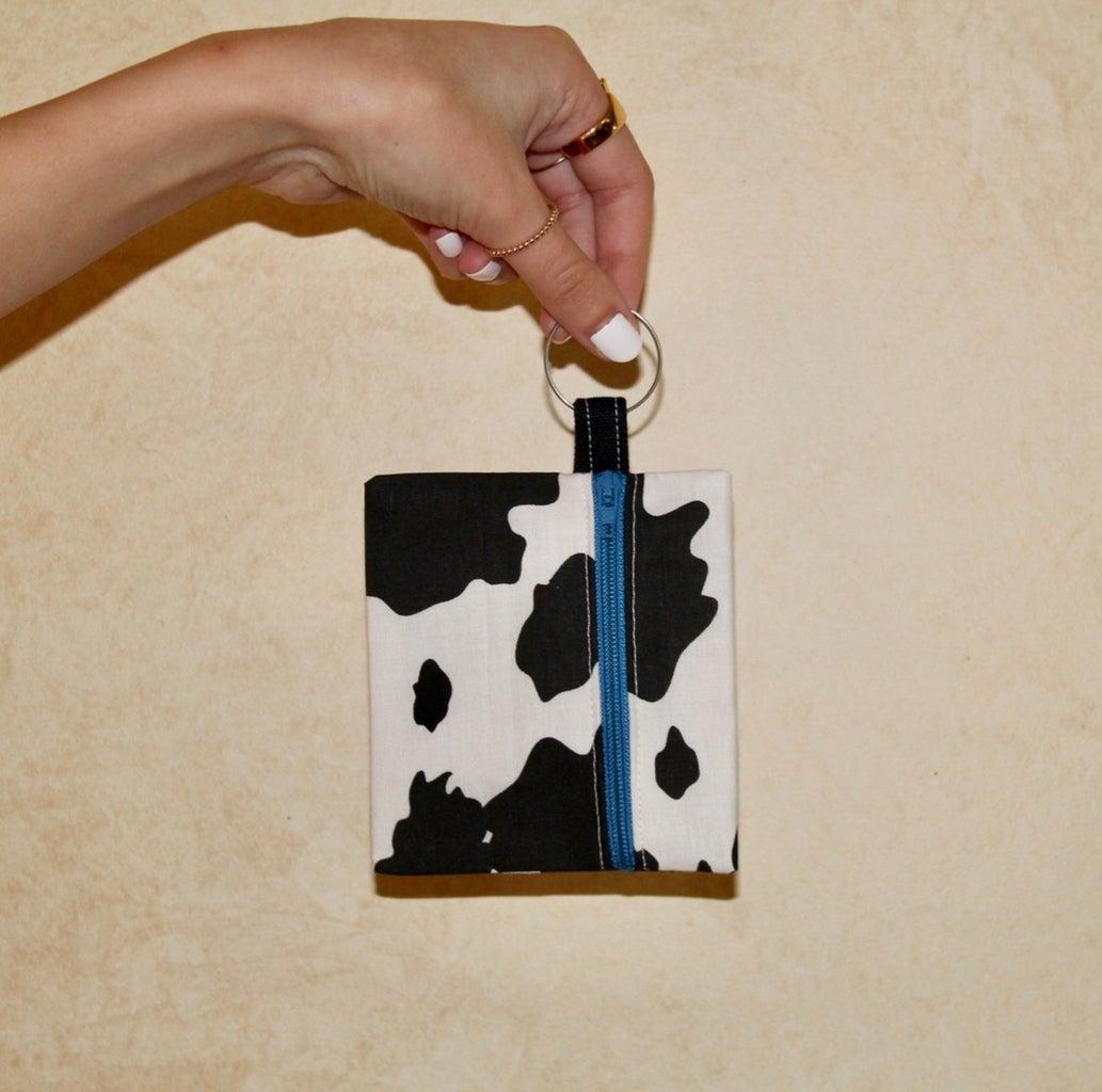 LA Embroidery coin purse