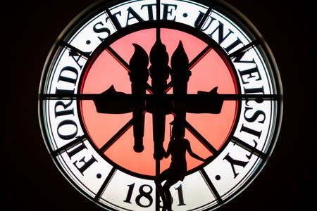 FSU Stained Glass Grad