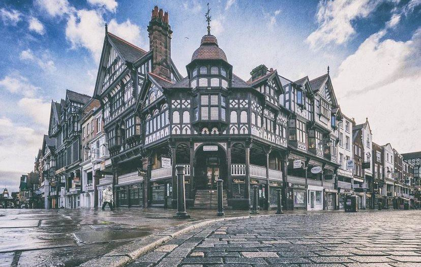 Historical buildings in Chester