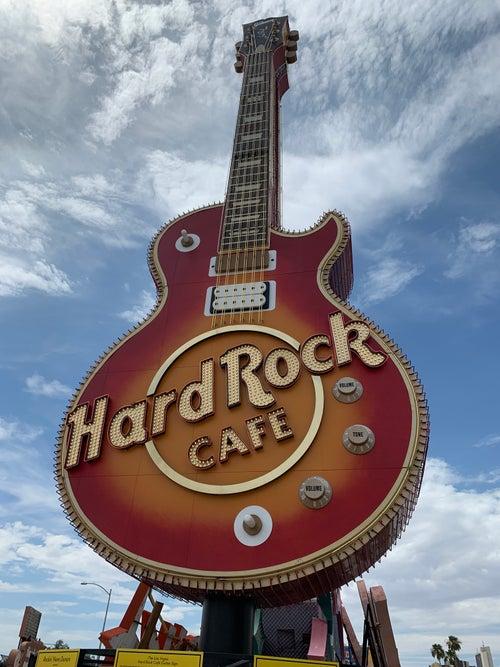 Hard Rock Neon Sign Las Vegas