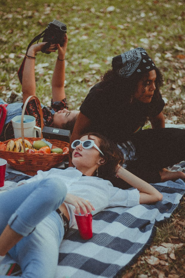 picnic, girls night, fun