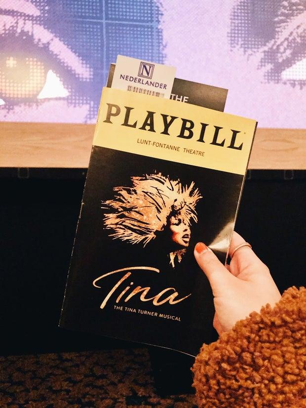 Tina the Musical - Playbill