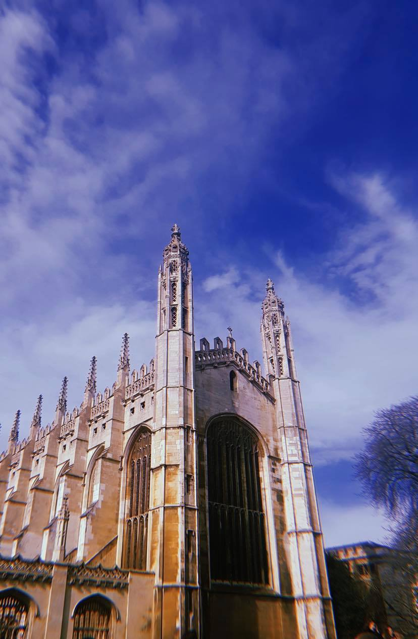 an old cathedral in cambridge