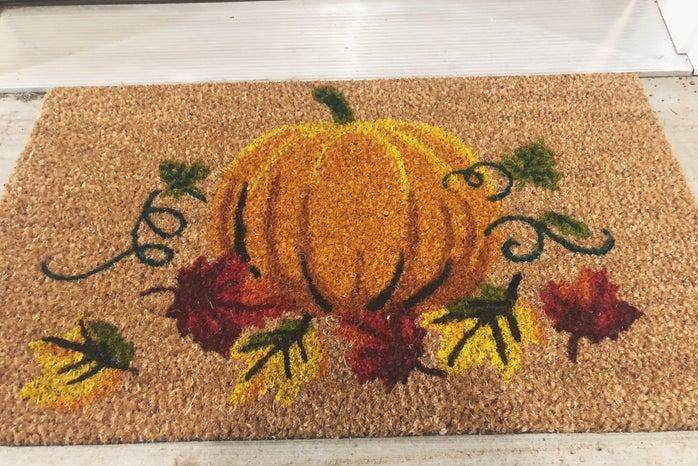 Fall themed doormat