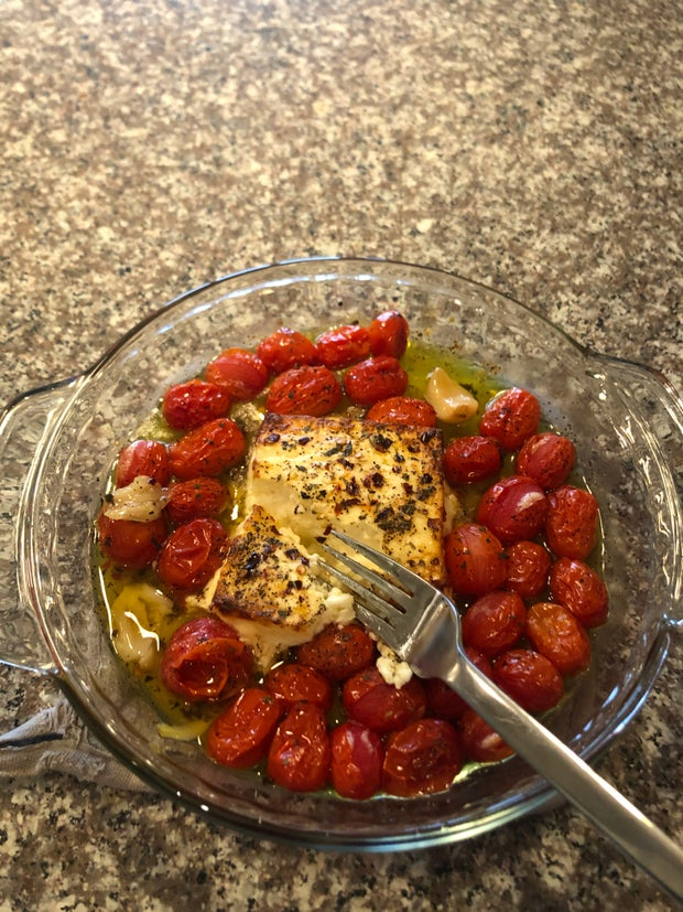 Tomatoes after oven