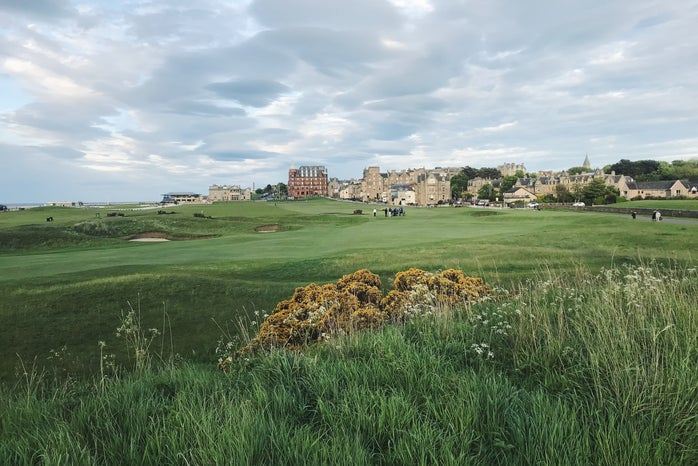 St Andrews Old Course, 18th hole