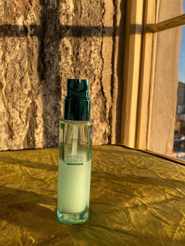 bottle of moisturizer for skin care