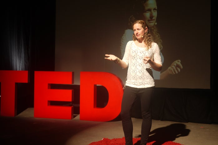 TED conference talk
