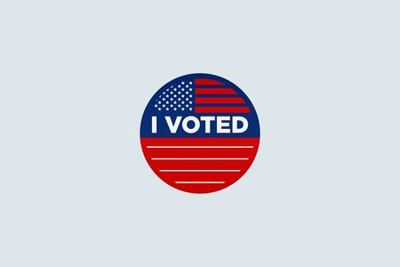 I Voted Graphic