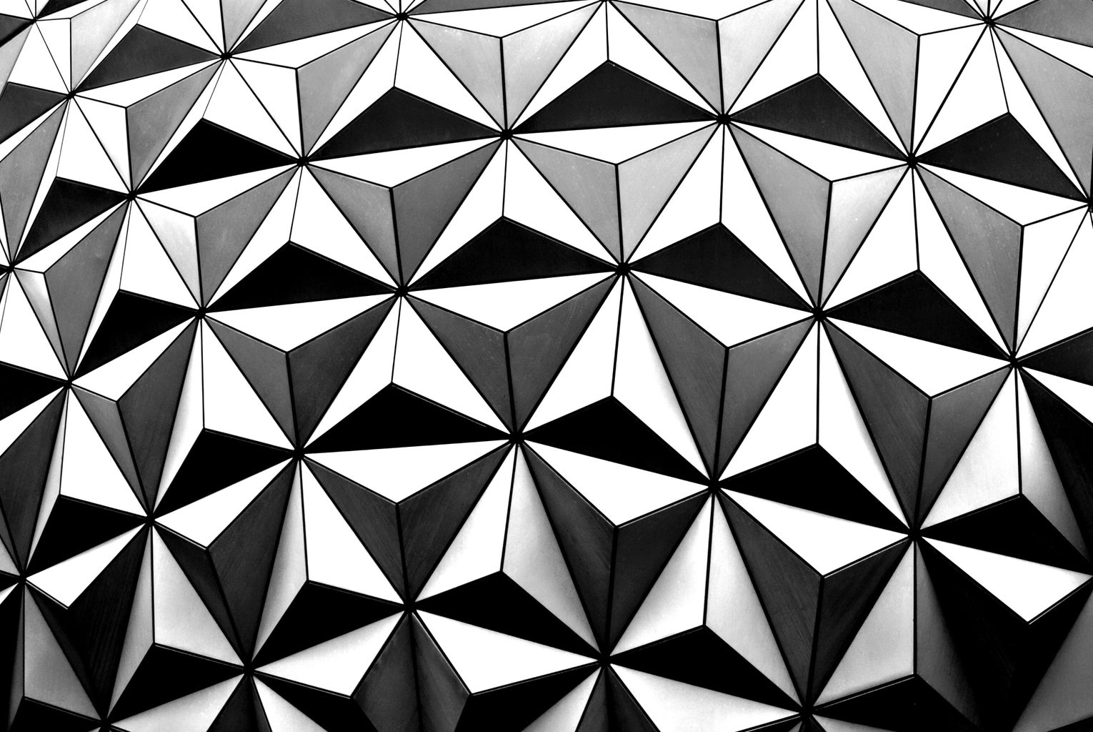 close up image of the Epcot Ball in Disney