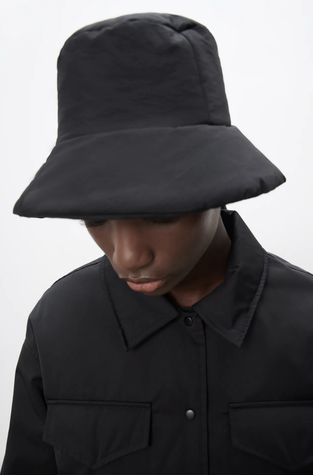 Zara quilted bucket hat