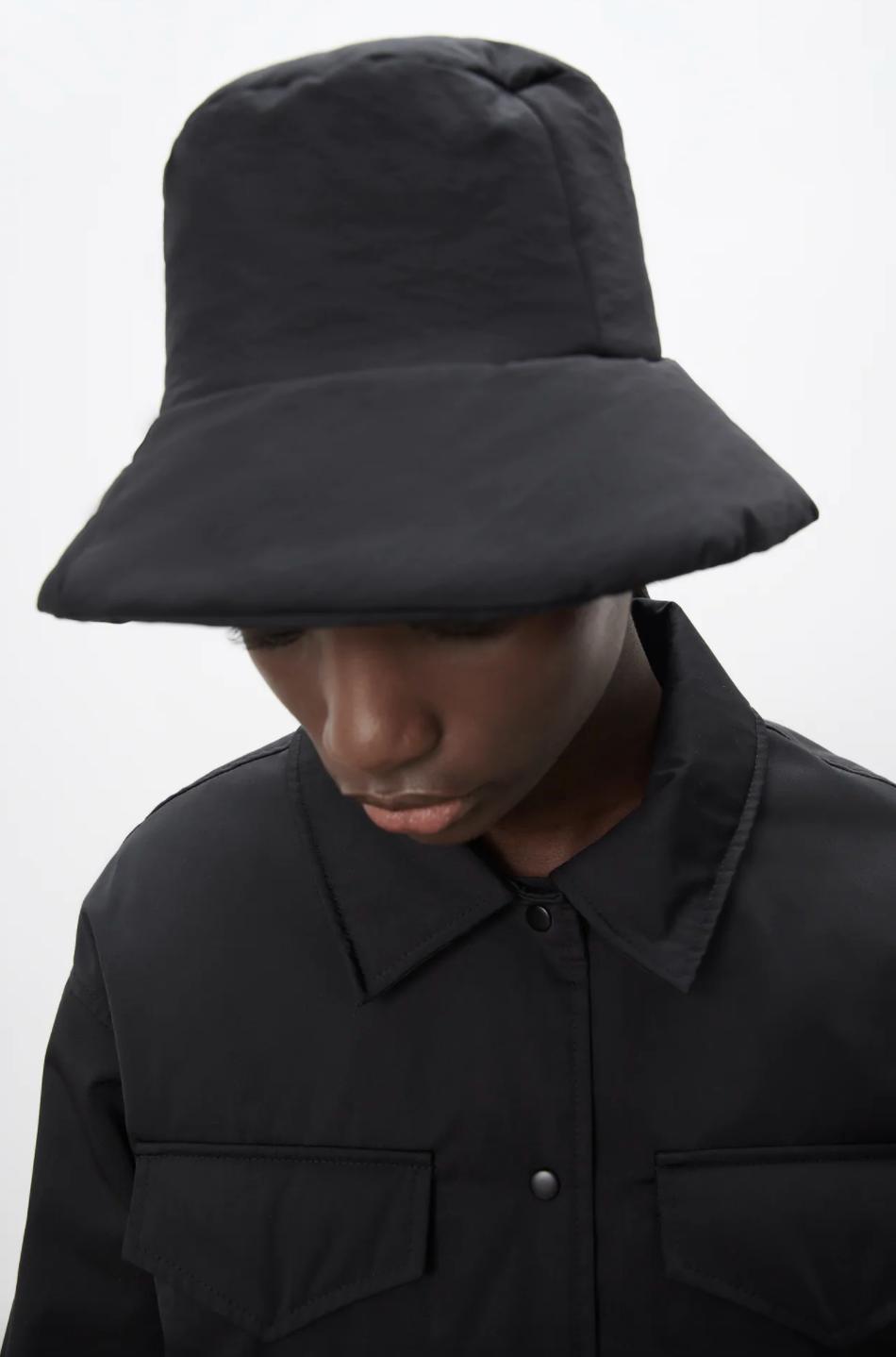 Zara quilted bucket hat