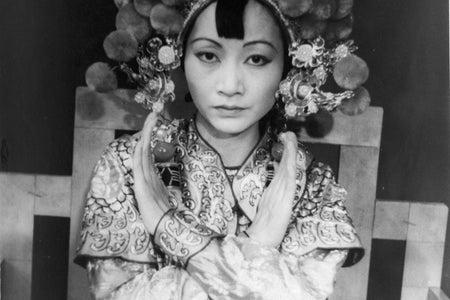 """Anna Mae Wong in """"Turandot"""". Photographed by Carl Van Vechten."""