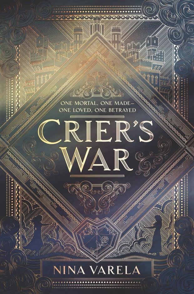 cover of crier's war by nina varela