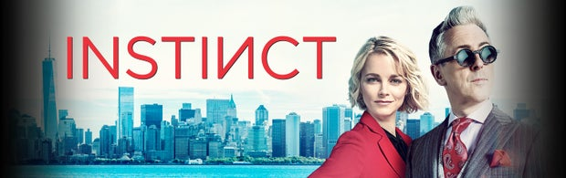 Poster of a show called Instinct