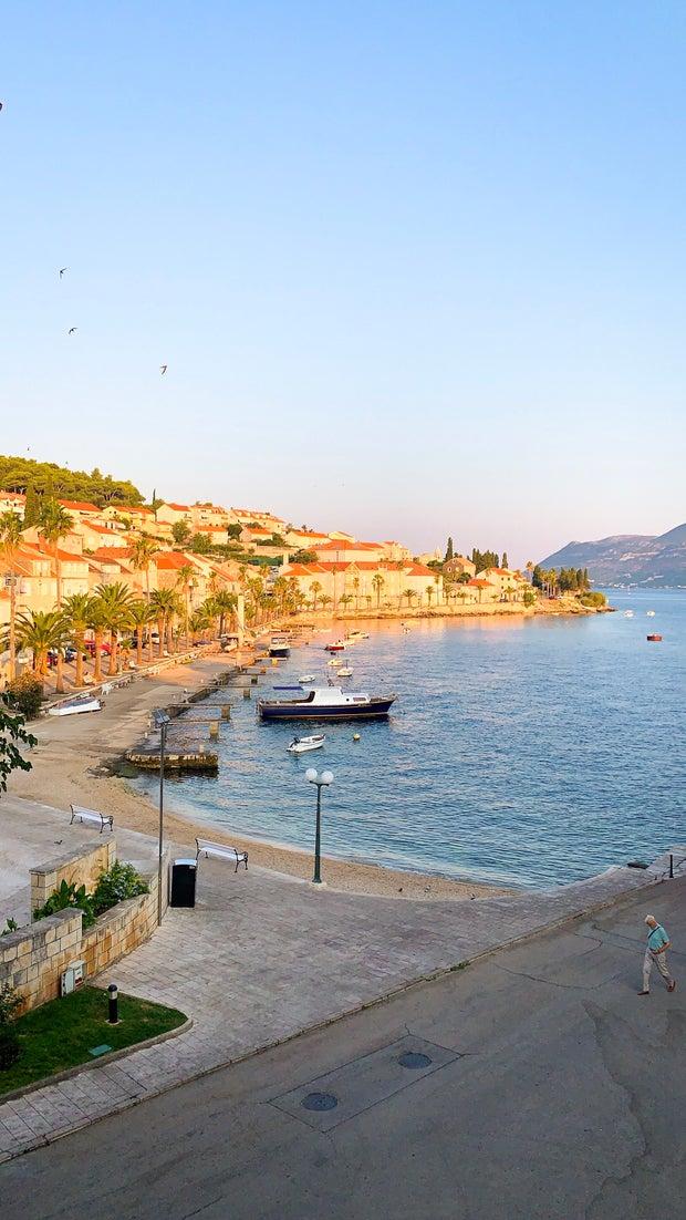 A picture of Korčula, Croatia