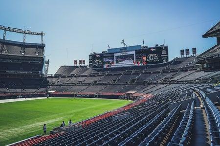NFL Football Stadium Empty