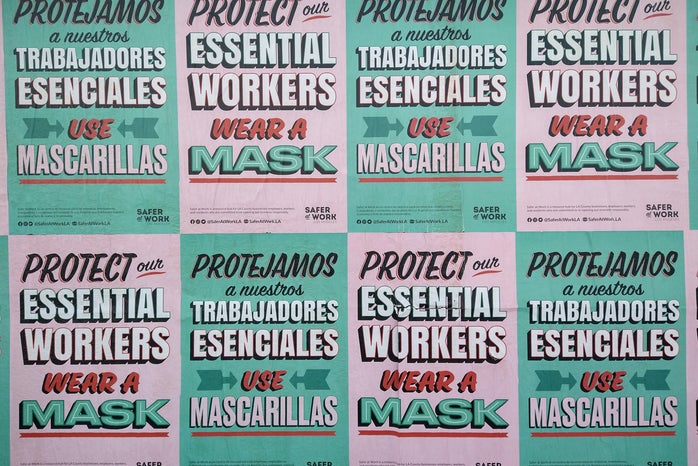 Protect Essential Workers Sign